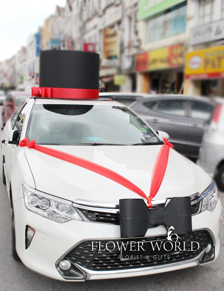 Top Hat Decoration | Top Hat for Bridal Cars | Top Hat for ...