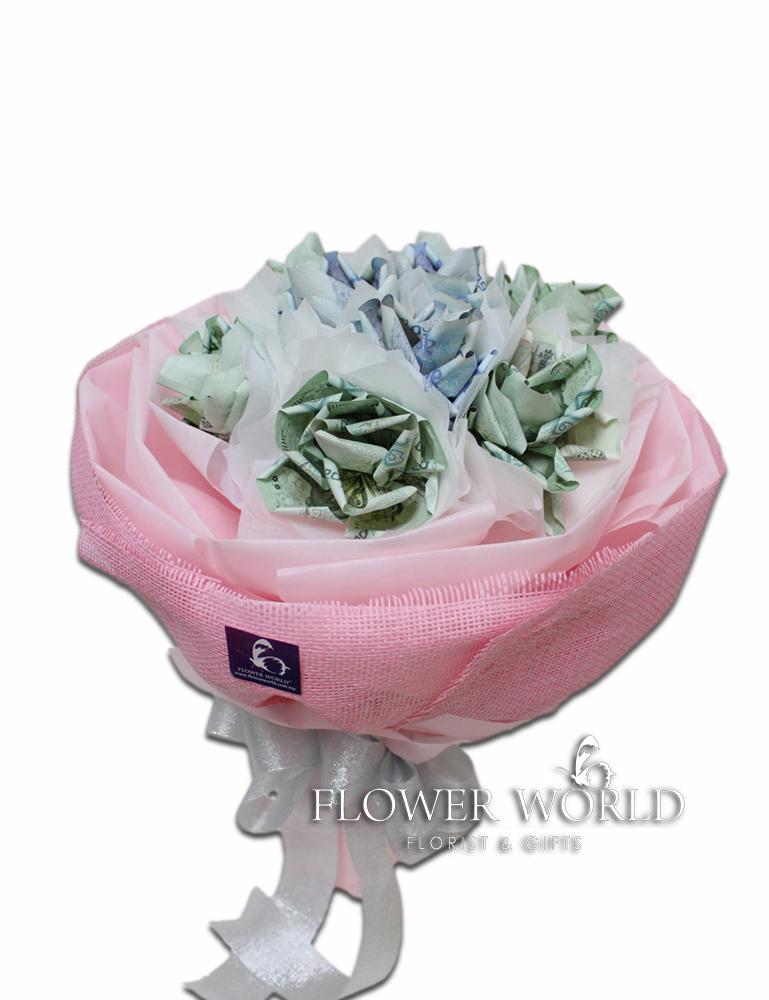 Money | Money Flower | Money Bouquet | Note Flower | Flower Made ...