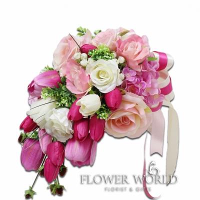 Artificial Flower Bridal Bouquet