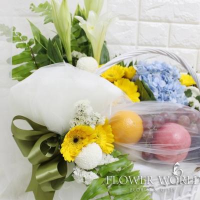 Fruit & Flower Basket