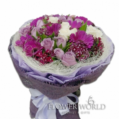 Roses and Daisies Bouquet