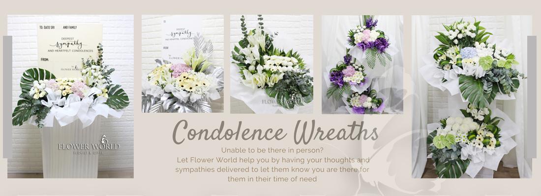 Wreath Condolence